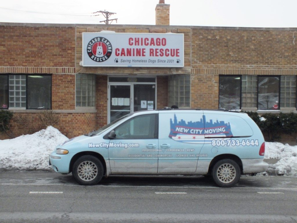 New City Moving Chicago Canine Rescue