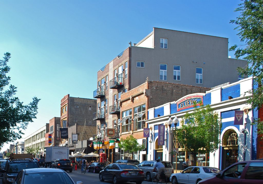 Wicker Park street view
