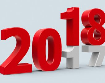 2017 turning into 2018