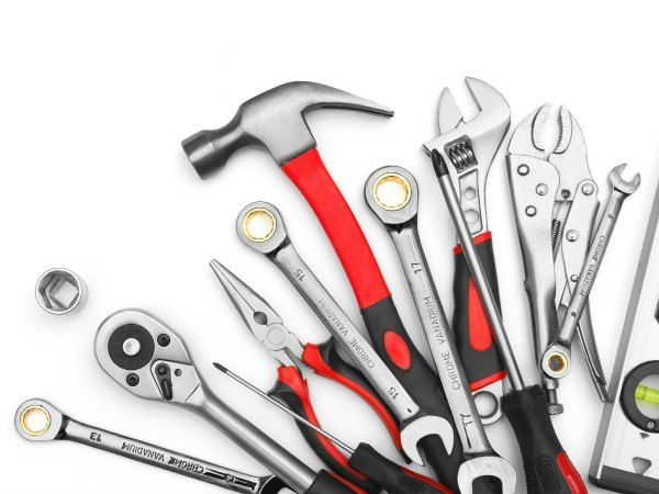 a pile of different tools